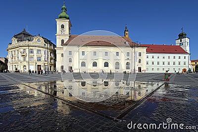 Grand Square, Sibiu, Romania