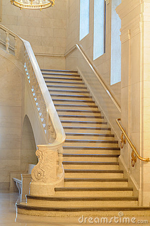 Free Grand Staircase Stock Photography - 15488432