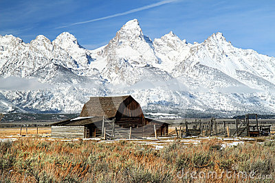 Grand Teton iconic barn