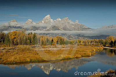Grand Tetons Autumn colors