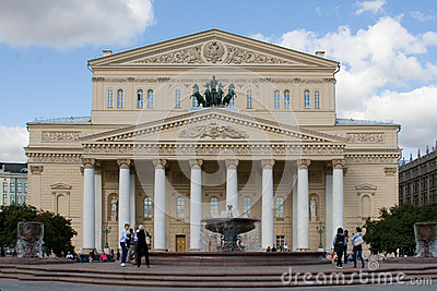 Grand Theatre in Moscow, Russia Editorial Stock Photo
