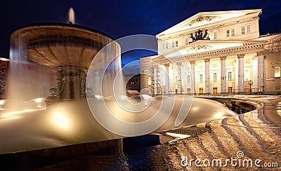 Grand Theatre at night