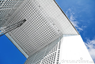 Grande Arche in Paris Editorial Image