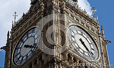 Grande Ben a Londra Inghilterra
