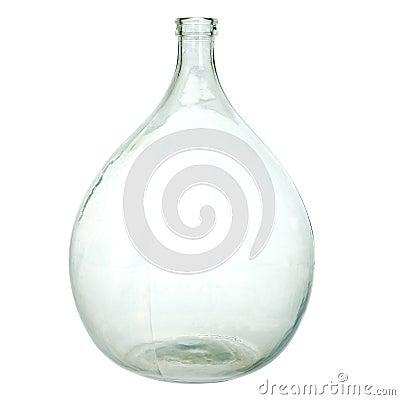 grande bouteille vide de vin image stock image 26354841. Black Bedroom Furniture Sets. Home Design Ideas
