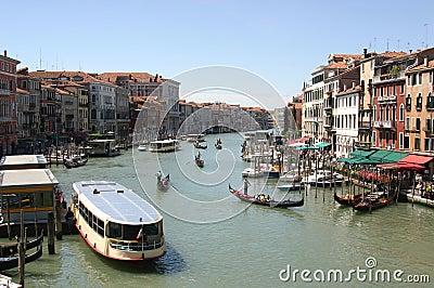 Grande Canal in Venice, Italy