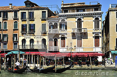 Grande Canale in Venice Editorial Stock Image