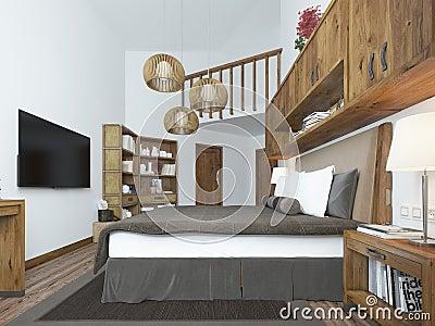 Chambre adulte complete contemporaine maguy fort de france 2111 for Balustrade mezzanine fort de france