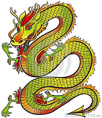 Grande colore del drago