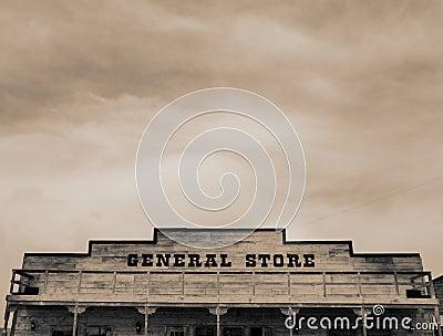 Grande magazzino occidentale dell annata