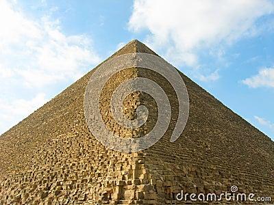 A grande pirâmide de Giza