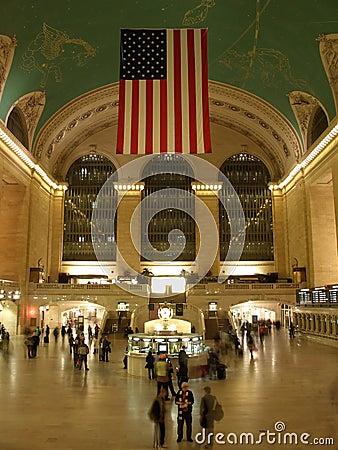 Grande stazione centrale di New York