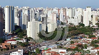 Grandes cidades no dia, cidade de Sao Paulo, Brasil filme