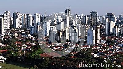 Grandes cidades no dia, Sao Paulo Brazil South America video estoque