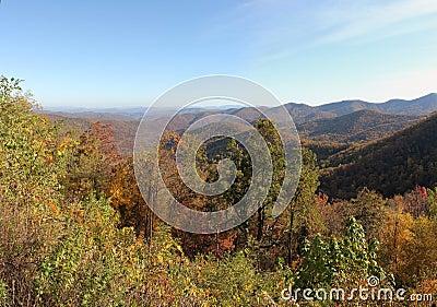 Grandes montanhas de Smokey