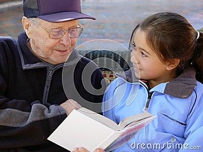 Grandfather чтение