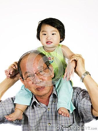 Free Grandfather Stock Image - 4735441