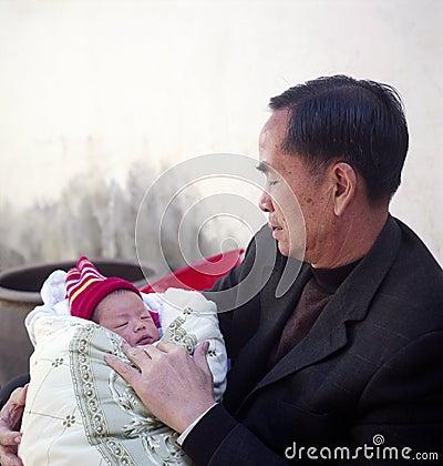 Free Grandfather And Grandchild Stock Image - 11264291