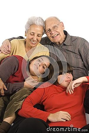 Grandfparents and grandchildren