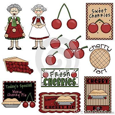 Grandma & Cherry Pie