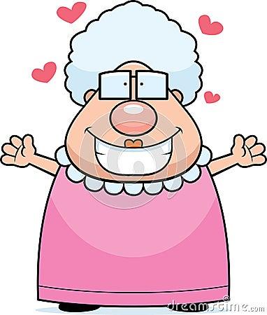 Free Grandma Hug Royalty Free Stock Photos - 13044008
