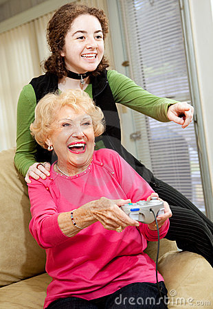 Grandma Loves Video Games