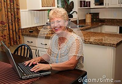 Grandma is online!