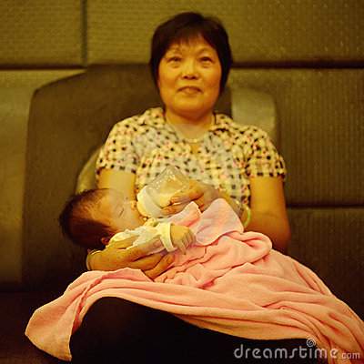 Free Grandmother And Grandchild Royalty Free Stock Photo - 11338495