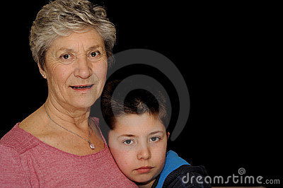 Grandmother and Grandson