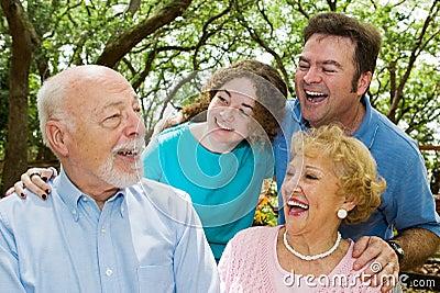 Grandpa Tells a Joke