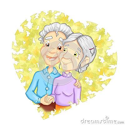 Grandparent in love