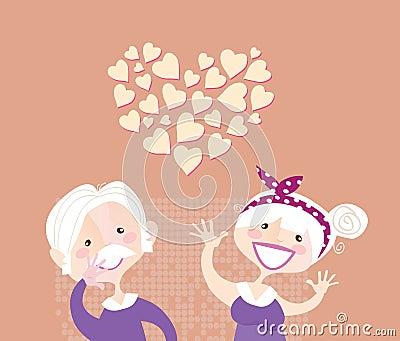 Grandparents ethernal love