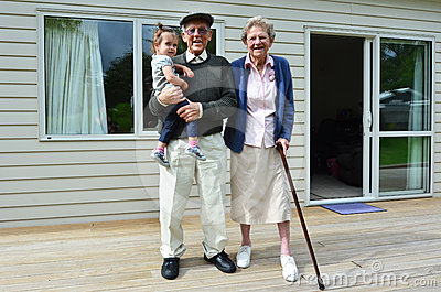 Grandparents and Grandchild  Relationship