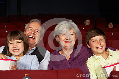 Grandparents and Grandchildren In Cinema