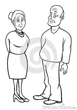 Grandparents outline