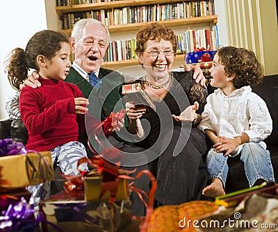 Grandparents and presents
