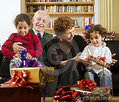 Grandparents and presents