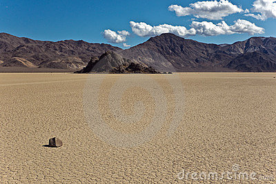 Grandstand and Racetrack Playa, Death Valley Natio