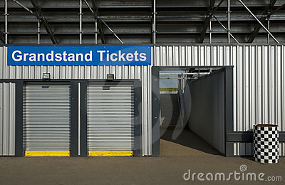 Grandstand tickets