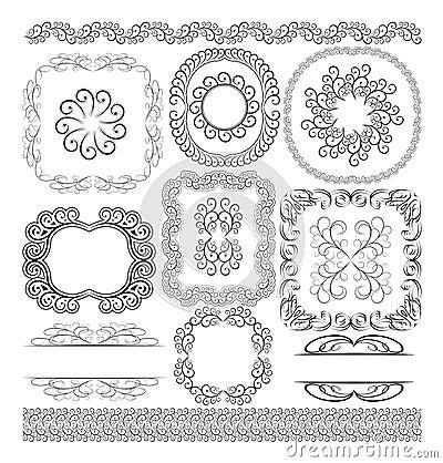 Granica ornamenty