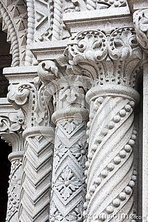 Free Granite Columns Stock Photography - 21724912