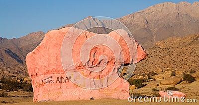 Granite landscape Editorial Stock Image