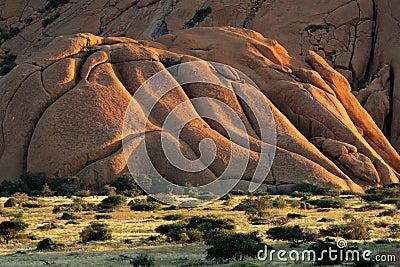 Granite mountain, Spitzkoppe, Namibia