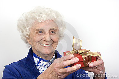 Granny with a Gift