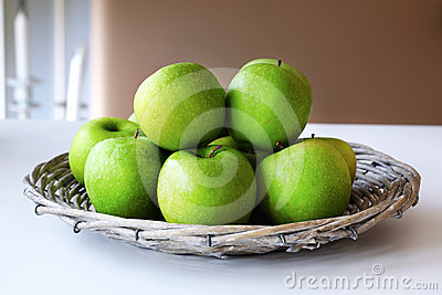 Granny Smith green apples