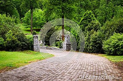 Тропка на парке Grant