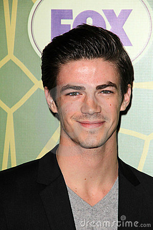 Grant Gustin at the FOX All-Star Party, Castle Green, Pasadena, CA 01-08-12 Editorial Photo
