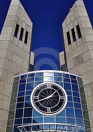 Grant MacEwan college clock towers