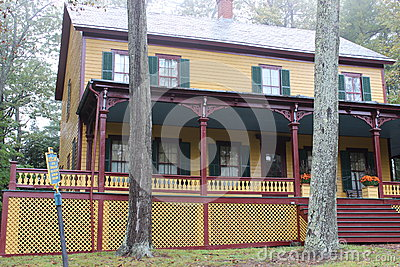 Grant s Cottage,where Ulysses S.Grant spent his last days,1885,New York Editorial Photography
