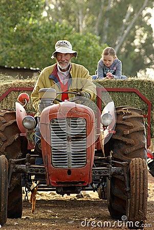 Grant-Vater Landwirt